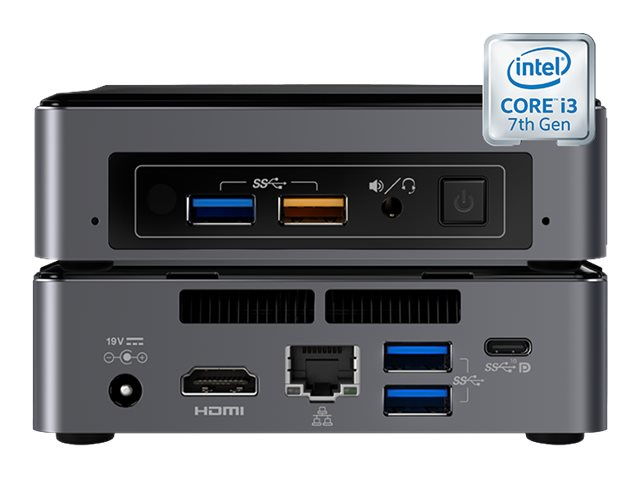 Vision VMP-7I3BNK - Digital Signage-Player - Intel Core i3 - RAM 4 GB - Festplatte 128 GB - kein OS