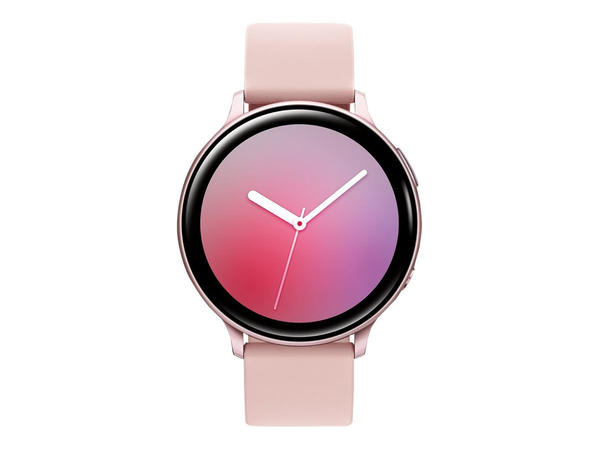 Samsung Galaxy Watch Active 2 - pink gold aluminum - smart watch with band - 4 GB