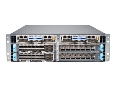 Juniper 5G UNIVERSAL ROUTING PLATFORM MX10003 - router - rack-mountable - with 2 x Juniper Routing Engines