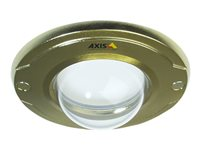 AXIS - Camera dome bubble - gold, clear transparent (pack of 10) - for AXIS M3011 Fixed Dome Network Camera
