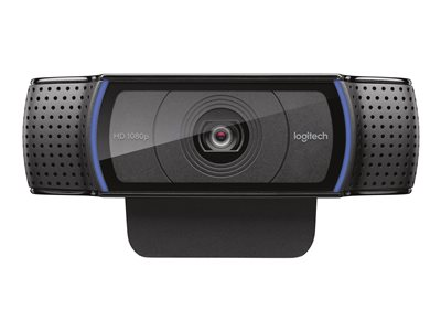 Logitech HD Pro Webcam C920 Web camera color 1920 x 1080 audio USB 2.0 H.264