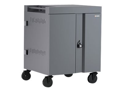 Bretford Cube Charging Cart 270 degree doors cart (charge only) for 16 tablets / notebooks