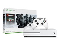 Microsoft Xbox One S Gears 5 Bundle game console 4K HDR 1 TB HDD white