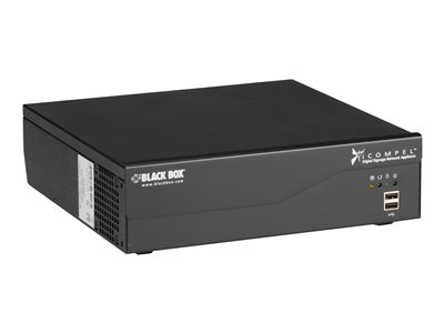 Black Box iCOMPEL Content Commander Appliance 25 Subscribers Digital signage publisher