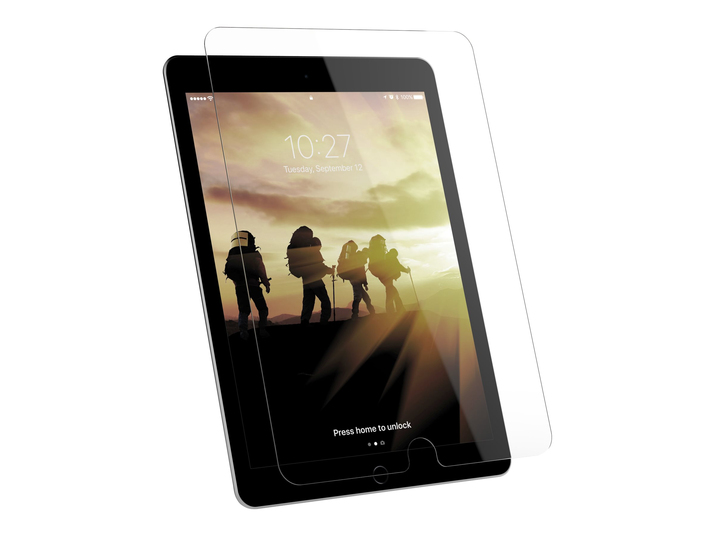 UAG Tempered Glass Shield for iPad 9.7 (5th & 6th Gen) / Pro 9.7 / Air - screen protector for tablet
