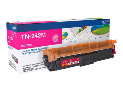 Brother TN 242M Magenta 1400 sider