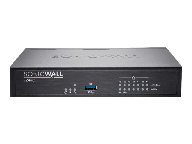 SONICWALL TZ400 WIRELESS-AC INTL SECURE UPGRADE PLUS - ADVANCED EDITION