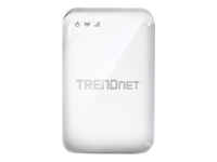 TRENDnet TEW-817DTR AC750 Wireless Travel Router - Wireless router - GigE - 802.11a/b/g/n/ac - Dual Band