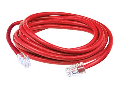AddOn - Patch cable - RJ-45 (M) to RJ-45 (M) - 30 cm - UTP - CAT 6a - snagless - red