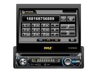 PYLE PLTS78DUB DVD receiver display 7 in in-dash unit Full-DIN 80 Watts x