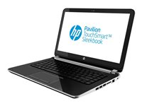 HP Pavilion TouchSmart Sleekbook 14-f021nr A4 5000 / 1.5 GHz Win 8 64-bit 4 GB RAM