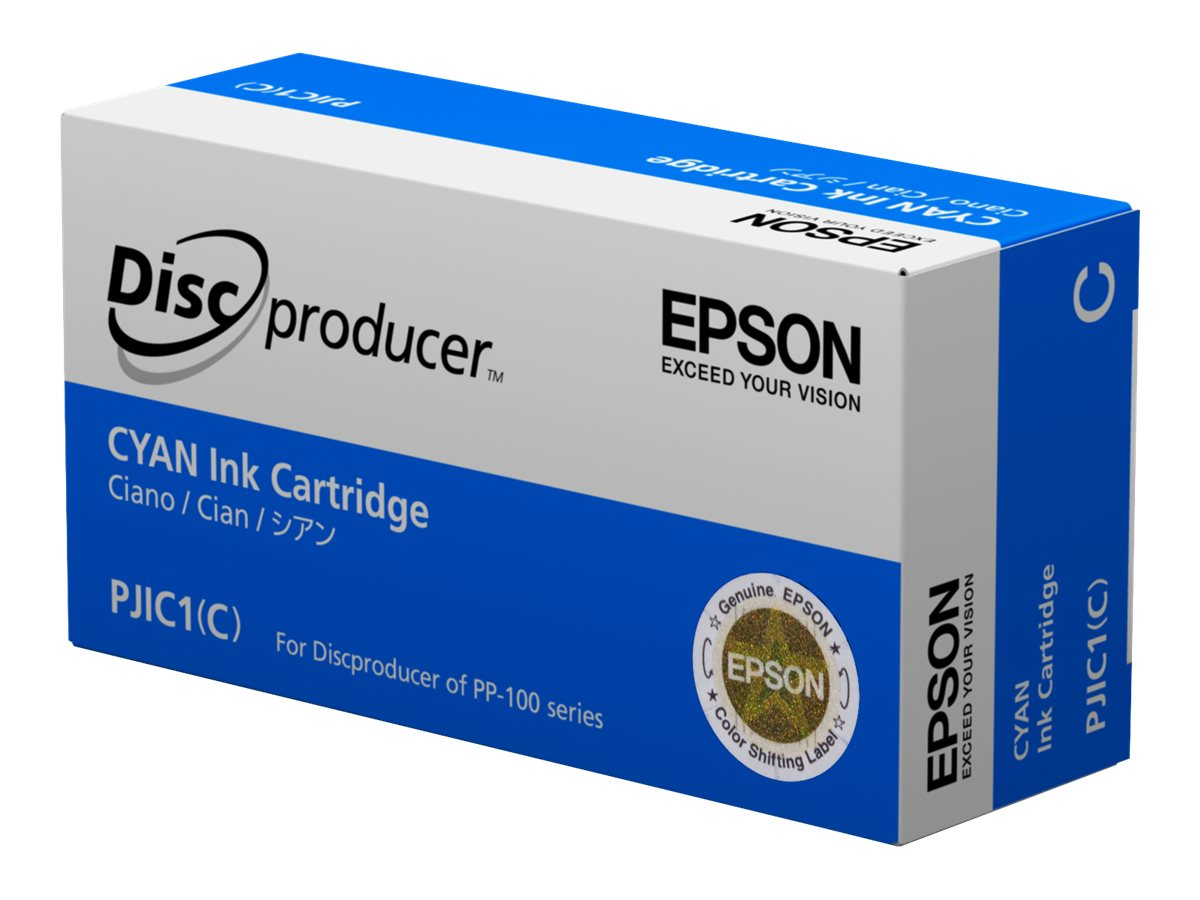 Epson - cyan - original - ink cartridge