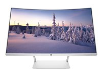 HP 27 - LED monitor - curved