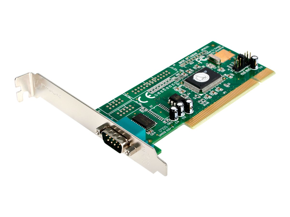 StarTech.com 1 Port PCI RS232 Serial Adapter Card with 16550 UART - PCI Serial Adapter - PCI rs232 - PCI Serial Card (P…