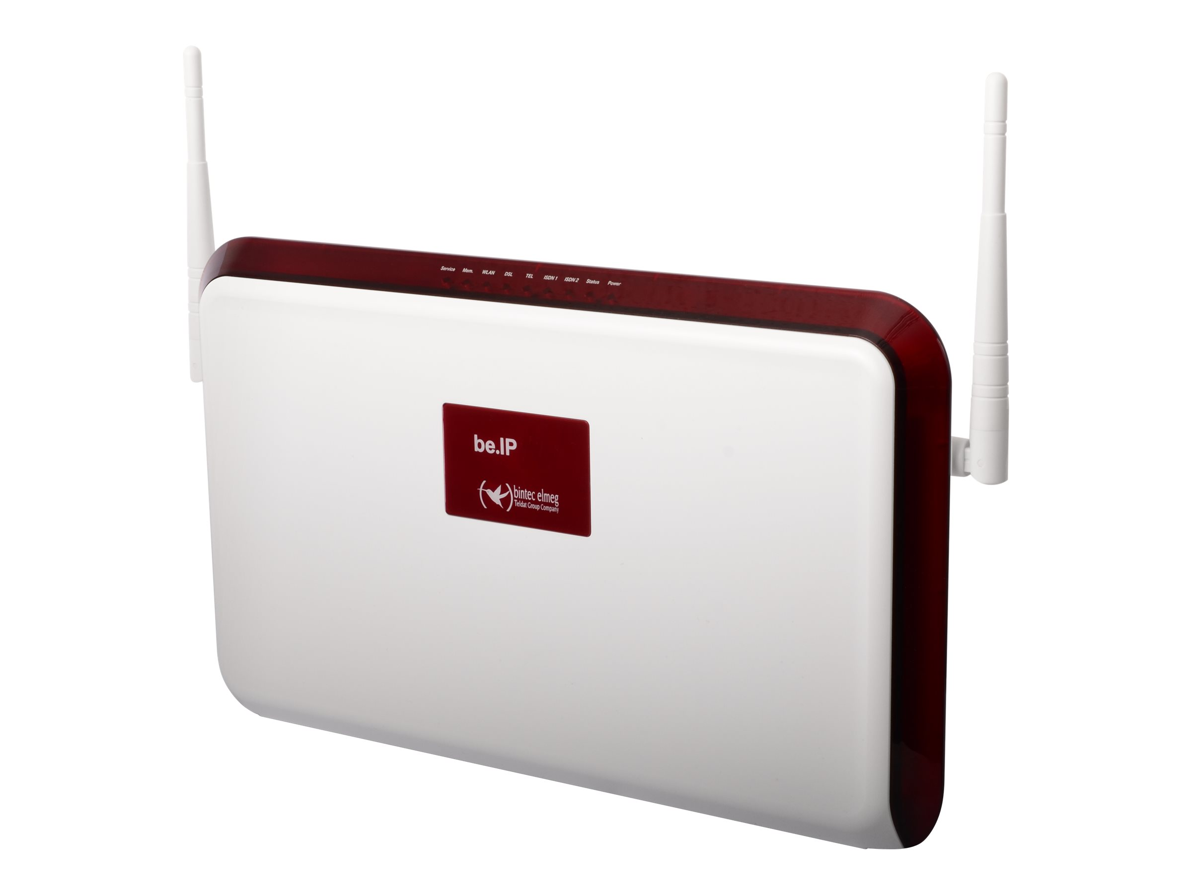 bintec elmeg be.IP - Wireless Router - DSL-Modem - GigE, PPP, MLPPP - WAN-Ports: 4 - 802.11a/b/g/n