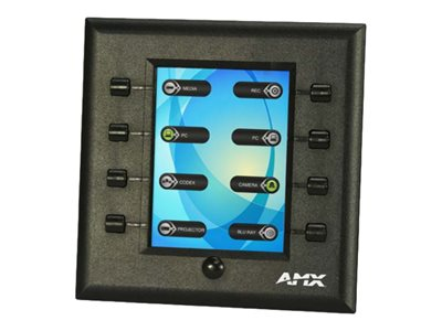 AMX N-Series SC-WPC-D Touch panel 8 buttons 3.5INCH cable/RF black