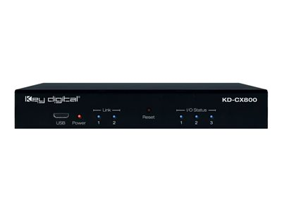 Key Digital KD-CX800 Network management device 100Mb LAN, RS-232, i