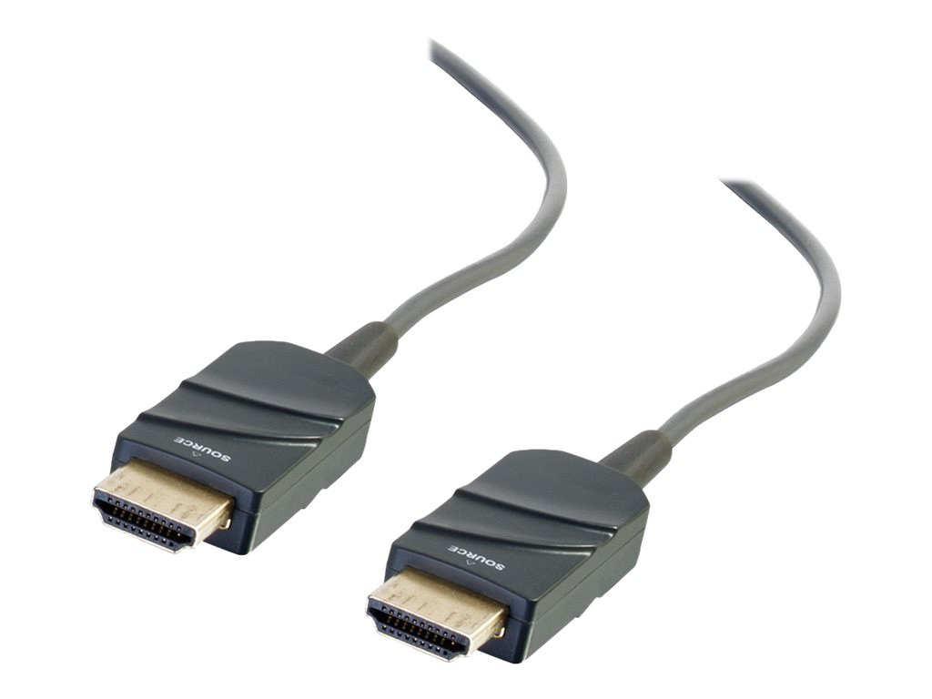 C2G 100ft HDMI Cable - Active Optical Cable (AOC) Plemum Rated High Speed - HDMI with Ethernet cable - 30.5 m