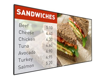 Philips Signage Solutions P-Line 55BDL5055P 55INCH Class (54.64INCH viewable) LED display
