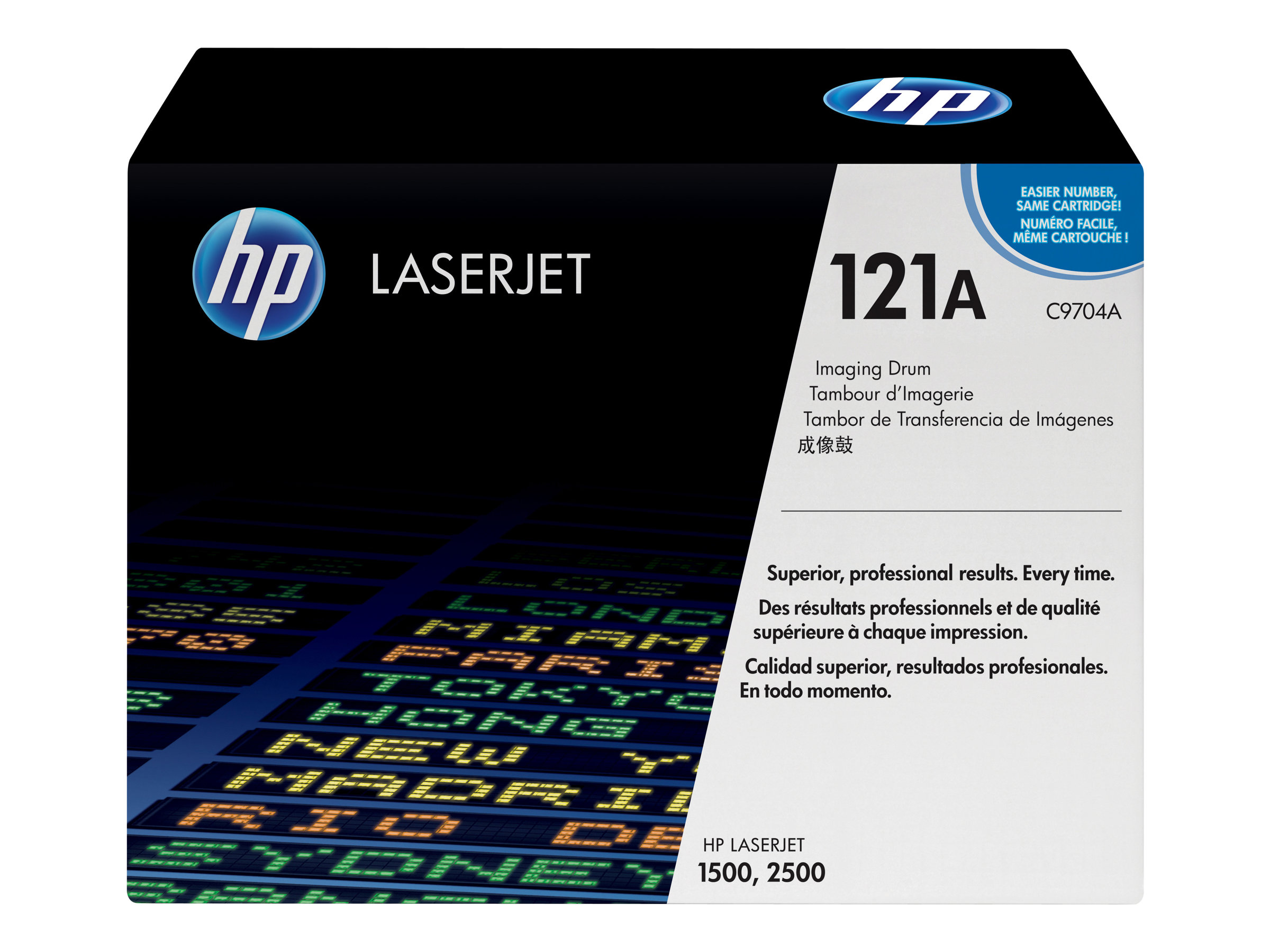 HP - 1 - Trommel-Kit - für Color LaserJet 1500, 1500L, 1500L xi, 2500, 2500L, 2500Lse, 2500n, 2500tn