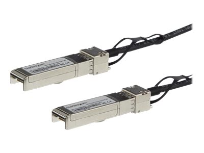 StarTech.com MSA Uncoded Compatible 3m 10G SFP+ to SFP+ Direct Attach Cable - 10 GbE SFP+ Copper DAC 10 Gbps Low Power …