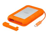 LaCie Rugged Thunderbolt USB-C STFS4000800 - Disque dur - 4 To - externe (portable) - USB 3.1 Gen 1 / Thunderbolt (USB-C connecteur)
