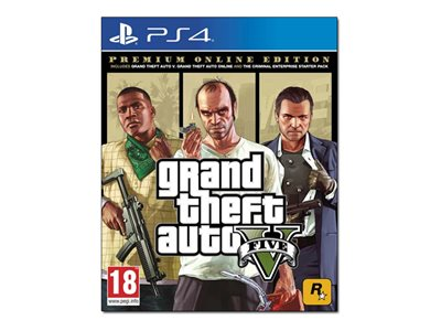 Grand Theft Auto V Premium Online Edition PlayStation 4