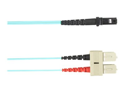 Black Box patch cable - 1 m - aqua