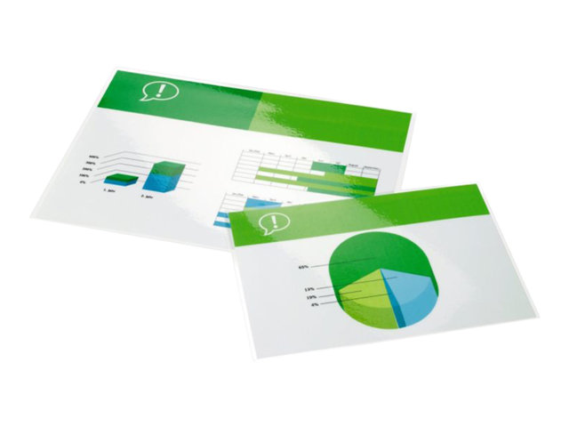 Image of Ibico - 100-pack - glossy - 216 x 303 mm - lamination pouches