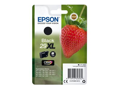 Epson 29XL Sort 470 sider