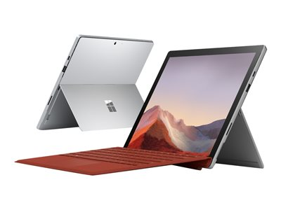 """Microsoft Surface Pro 7 - Tablet - Core i3 1005G1 / 1.2 GHz - Win 10 Pro - 4 GB RAM - 128 GB SSD - 12.3"""" touchscreen 2736 x 1824 - UHD Graphics - Bluetooth, Wi-Fi - platinum - commercial"""