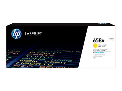 HP 658A Yellow original LaserJet toner cartridge (W2002A)