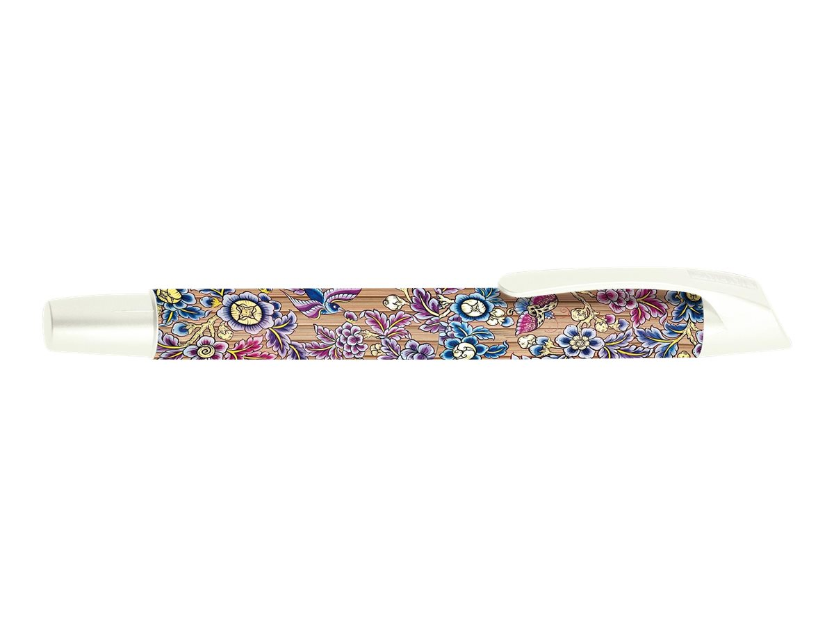 ONLINE YOUNG.LINE Campus Best Writer Bamboo Flowers - Stylo plume - bleu
