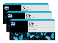 HP 771A Tri-pack 3-pack 775 ml light magenta original ink cartridge