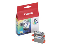ink BCI-15 CMY dual pack