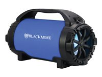 Blackmore BTU-5001 Speaker for portable use wireless Bluetooth 2-way blue