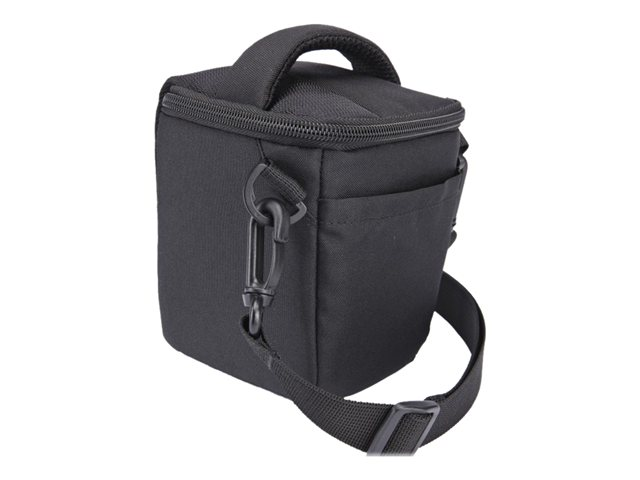 Case Logic High Zoom/Compact System Camera Case - Étui pour appareil photo - polyester - noir