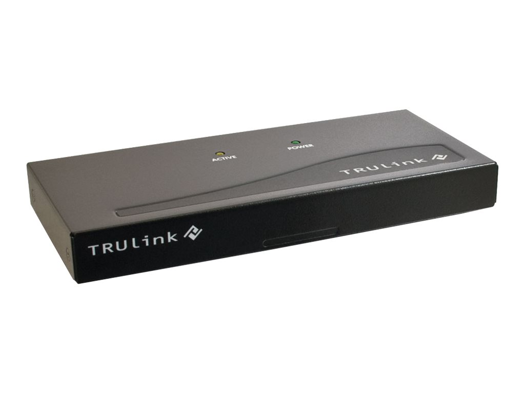 C2G TruLink 2-Port VGA Monitor Splitter/Extender (Female Input) - video extender
