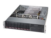 Supermicro SuperServer 2028R-C1R4+ Server rack-mountable 2U 2-way RAM 0 GB SATA/SAS