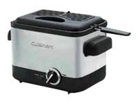 Cuisinart CDF-100 Deep fryer 1000 W brushed stainless steel image