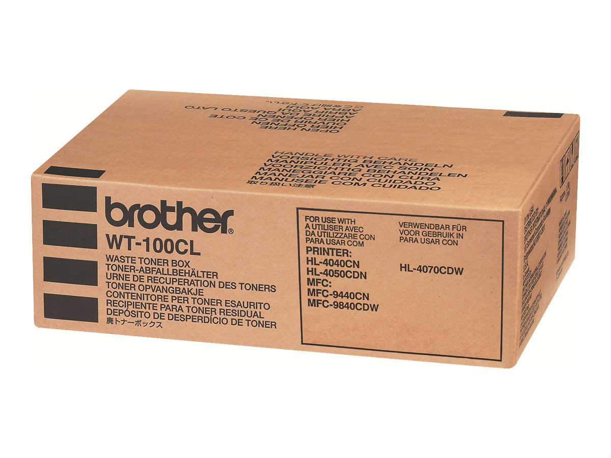 Brother WT100CL - Tonersammler - für Brother DCP-9040, 9042, 9045, HL-4040, 4050, 4070, MFC-9440, 9450, 9840