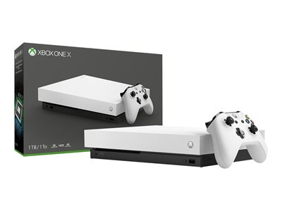 Microsoft Xbox One S All-Digital Edition game console 4K HDR 1 TB HDD robot