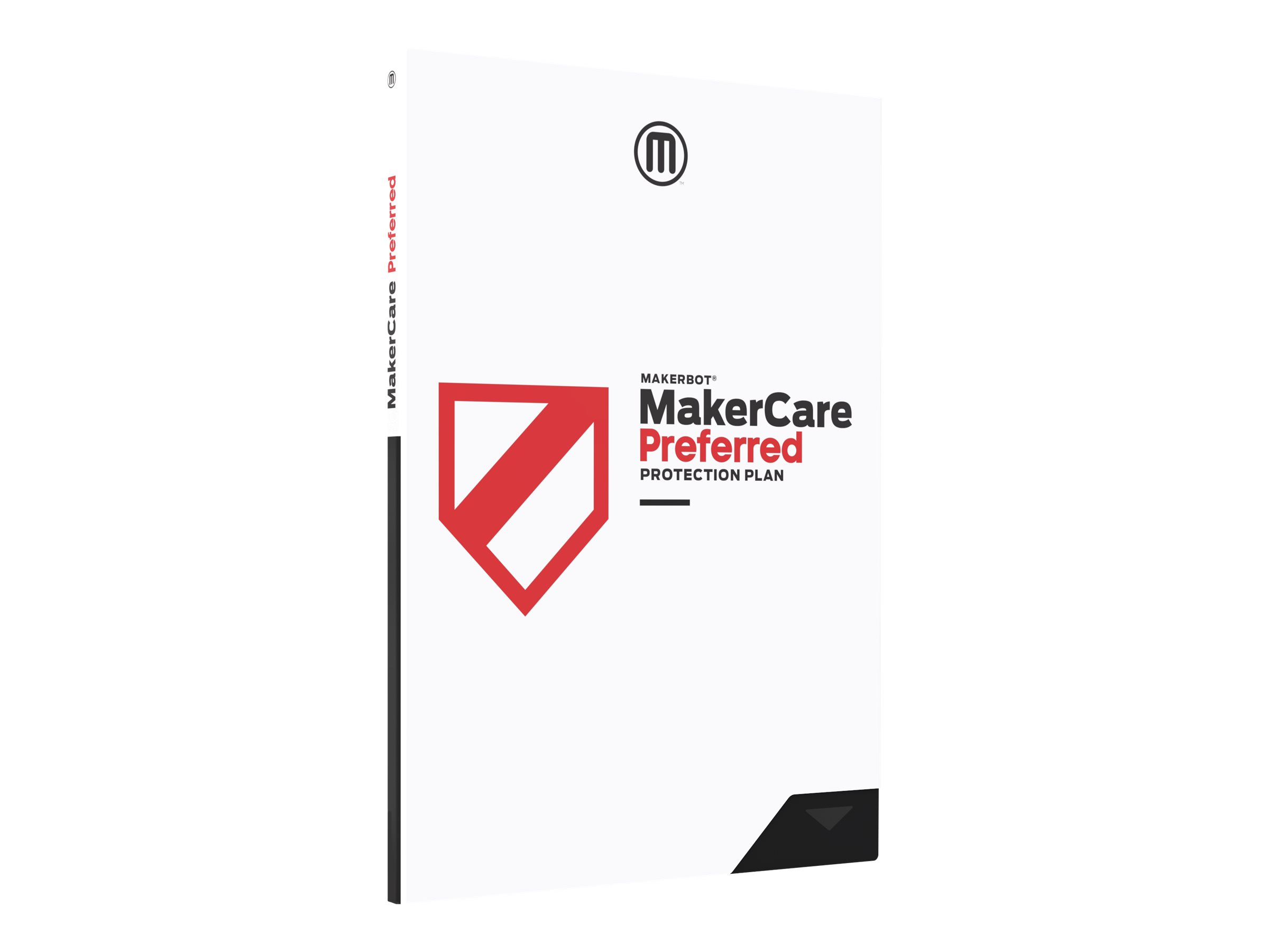 MakerBot MakerCare Protection Plan Preferred - extended service agreement - 1 year