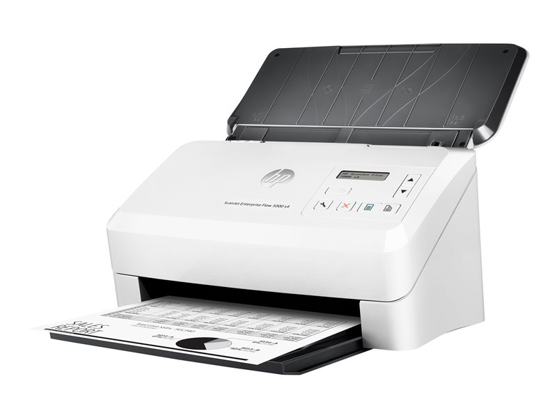 HP ScanJet Enterprise Flow 5000 s4 Sheet-feed Scanner - dokumentskanner - desktop - USB 3.0, USB 2.0