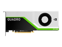 NVIDIA Quadro RTX 8000 - Graphics card - Quadro RTX 8000 - 48 GB GDDR6 - PCIe 3.0 x16 - for ProLiant DL380 Gen10, DL385 Gen10, XL270d Gen10