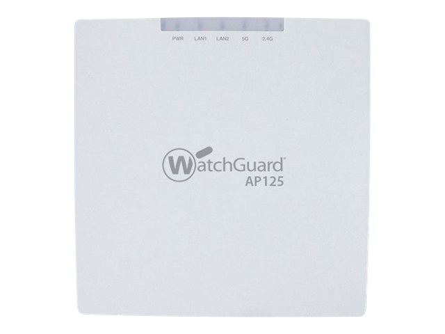 WatchGuard AP125 - wireless access point - with 1 year Total Wi-Fi