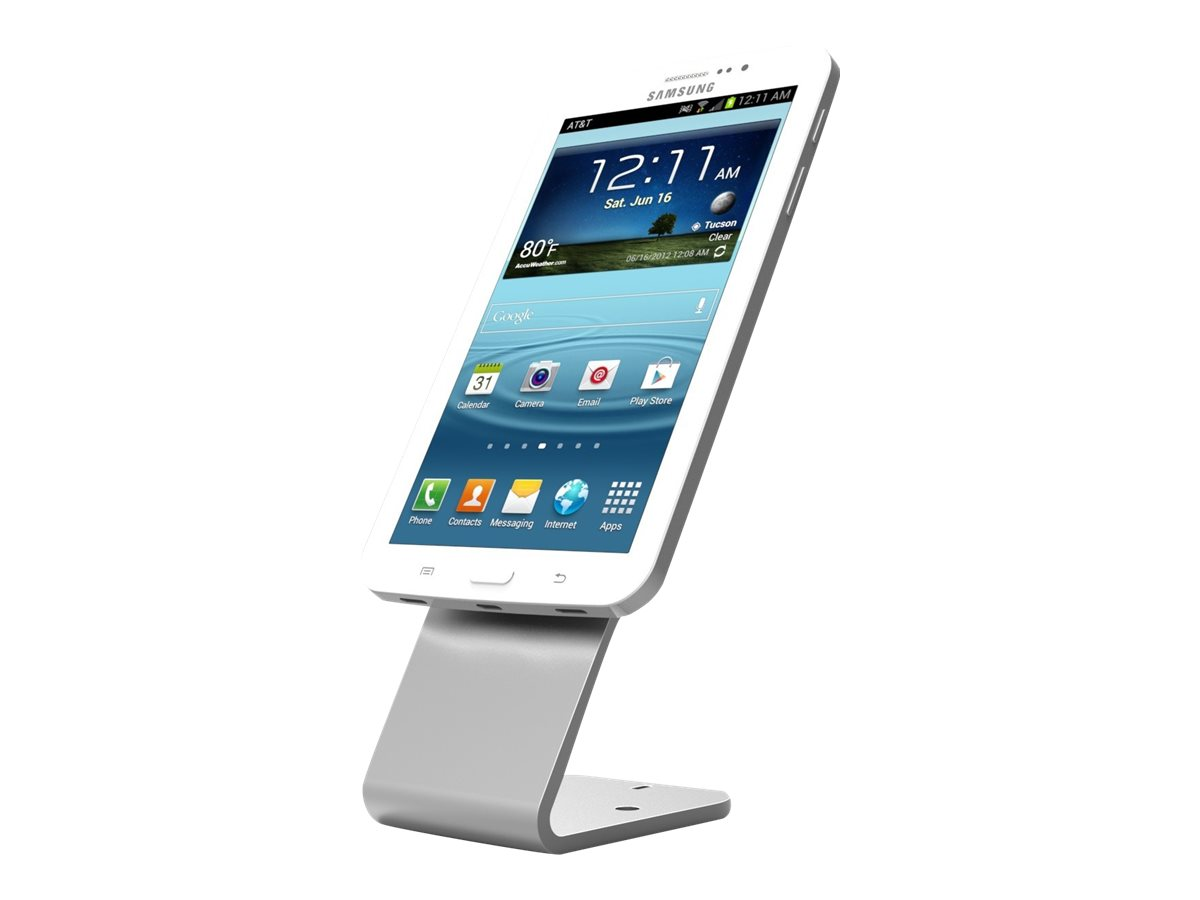 Maclocks Hovertab - Universal Tablet Security Stand with 3M VHF Plate - Fits all Tablets - Befestigungskit (Standfuß, selbsthaftende Montageplatte) für Tablett - Stahl