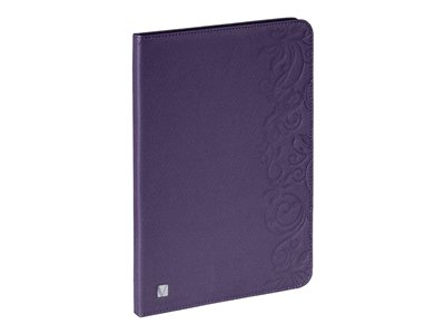 Verbatim Folio Expressions Protective cover for tablet floral purple for A