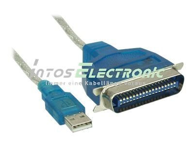 InLine - Parallel-Adapter - USB - IEEE 1284