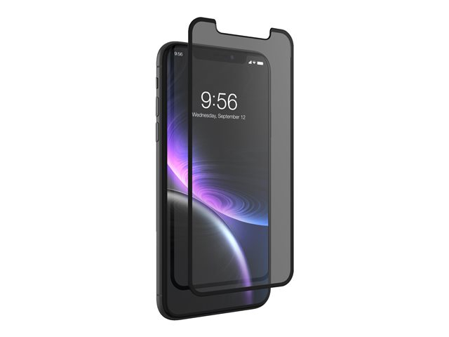 ZAGG InvisibleShield Glass Curve - Protection d'écran - pour Apple iPhone XR